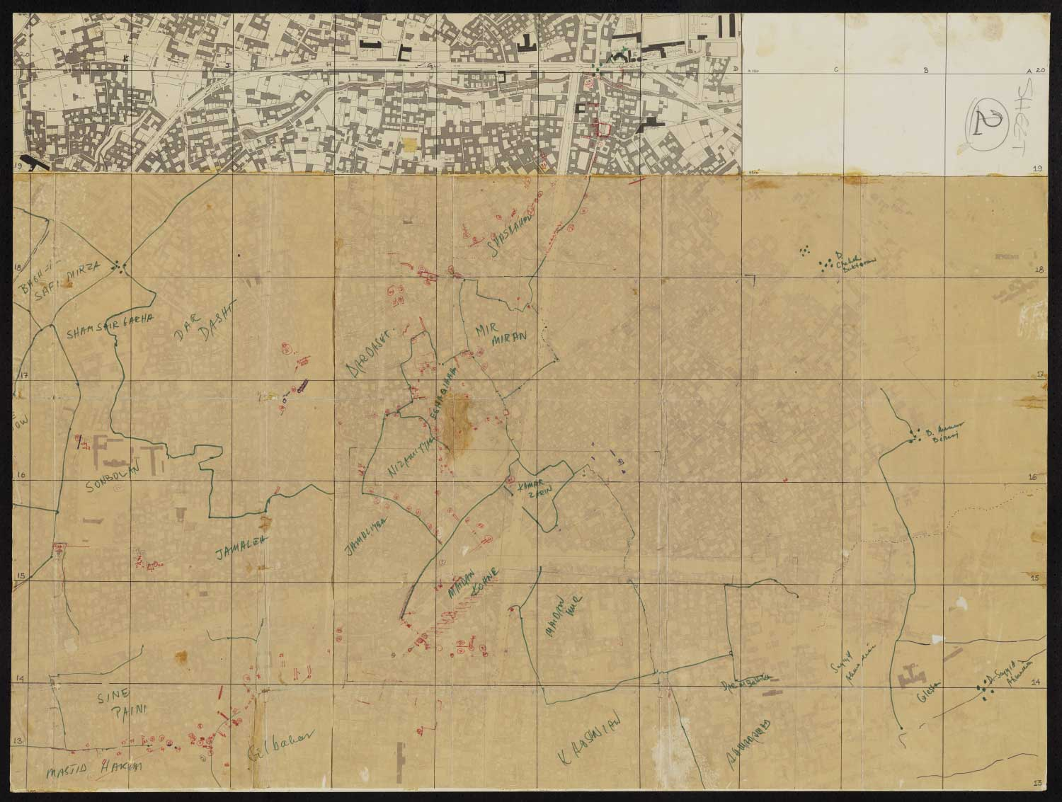 Collections | | Map of Isfahan at 1:2500 (National ...