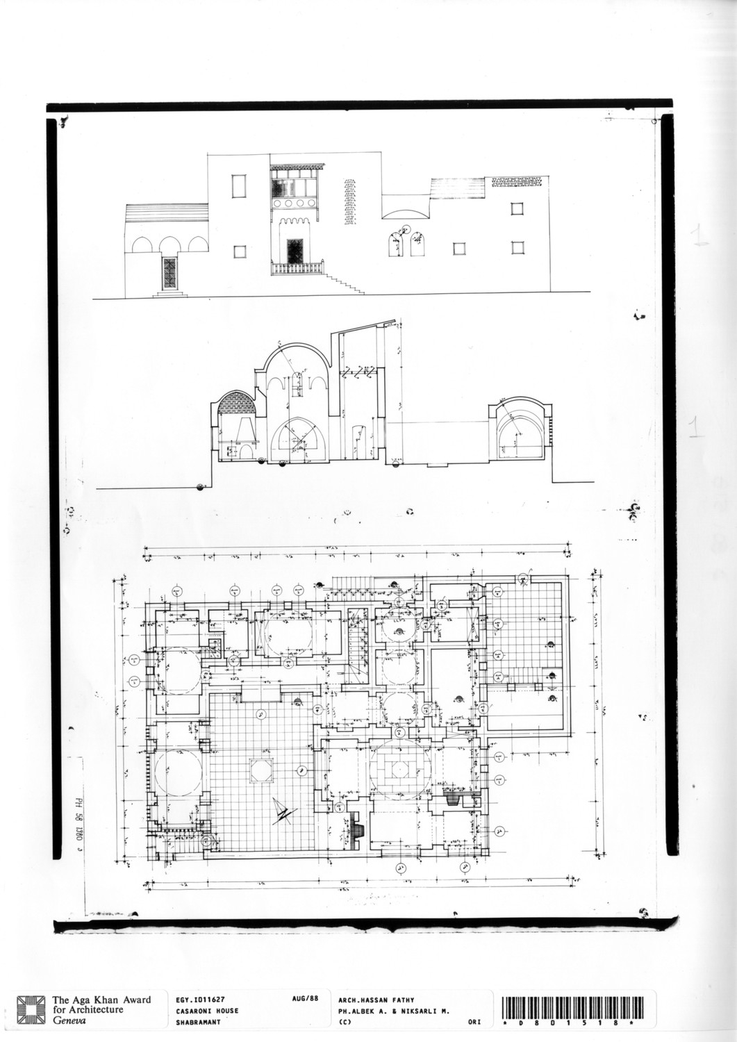 Drawing House Floor Plans: Working Drawing: Ground Floor Plan, Final