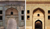 Aktc-pakistan-before_and_after_restoration_of_shah_burj_gate_collage_3_r_0