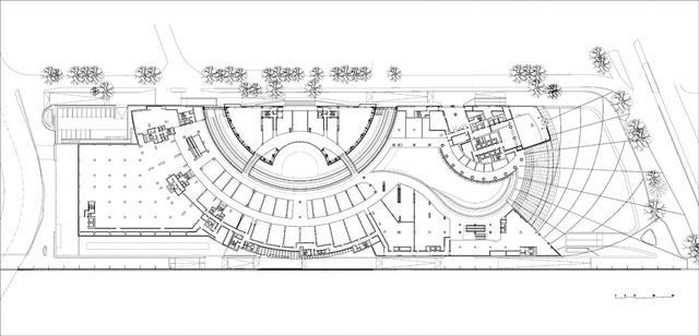 Kanyon Complex Ground Floor Plan Archnet