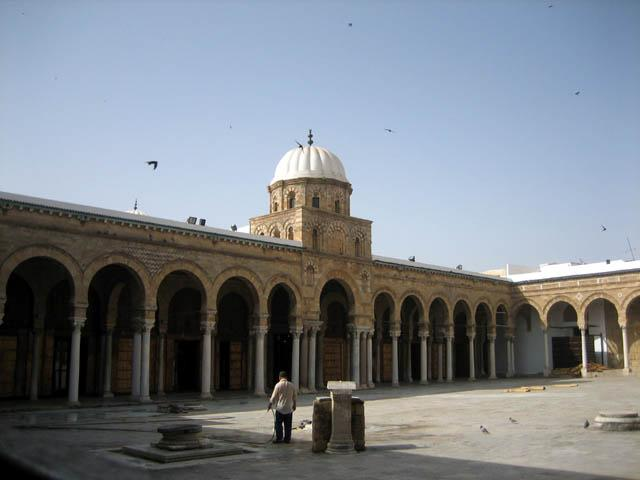 Zaytuna Mosque View From Courtyard Looking South To Elevation Of Prayer Hall Archnet