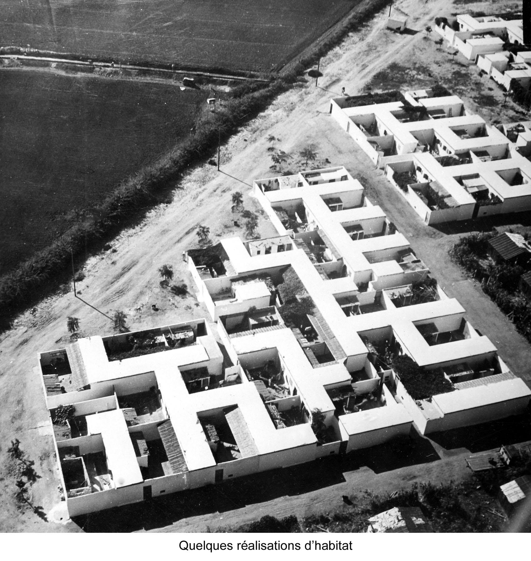 Plan D Amenagement D Agadir Bird S Eye View Of Housing Archnet