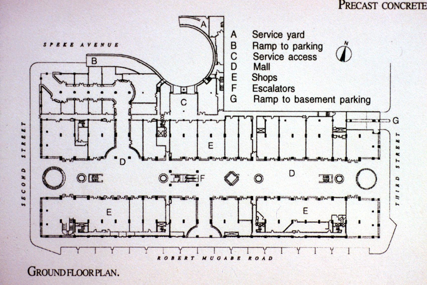 Eastgate Ground Floor Plan Archnet