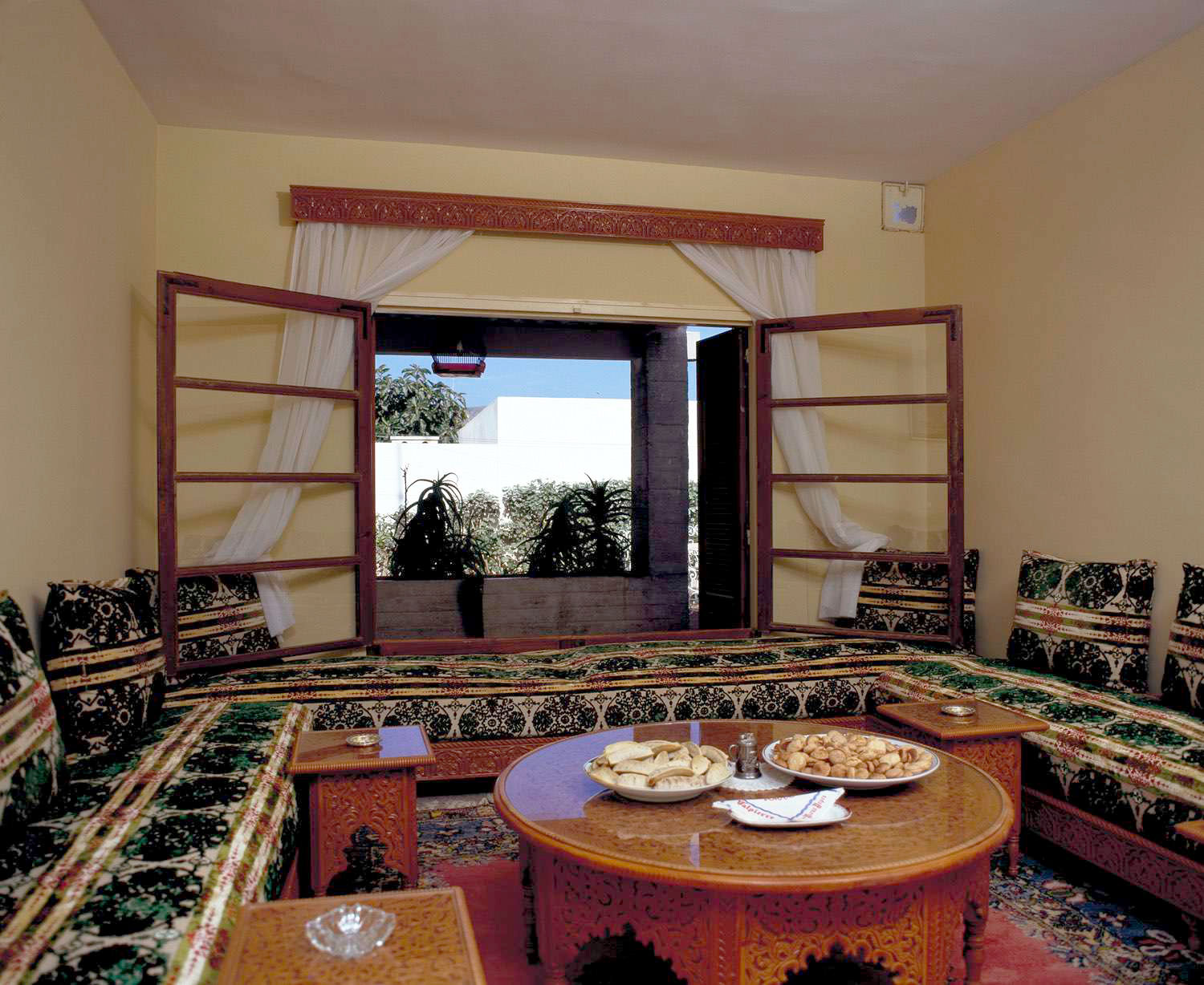 Courtyard Houses Of Agadir The Seating Alcove Is Placed In The Main Room Archnet