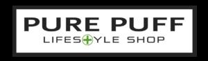 PurePuff logo boxed