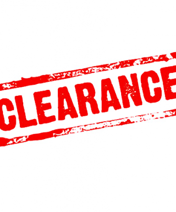 Clearance Categories