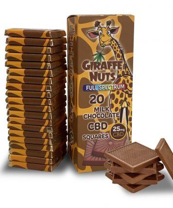 Milk Chocolate CBD Squares