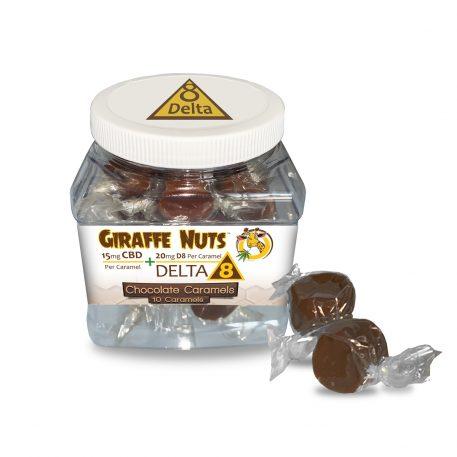 Delta 8 Chocolate Caramel