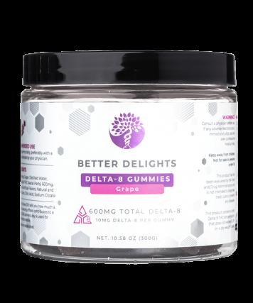 Delta-8 Gummies Grape