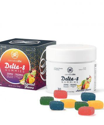 Cannabislife Delta-8 Assorted Flavors