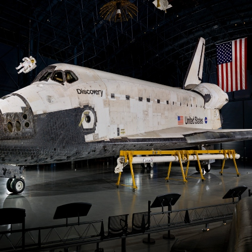 Discovery Space Shuttle - Smithsonoian