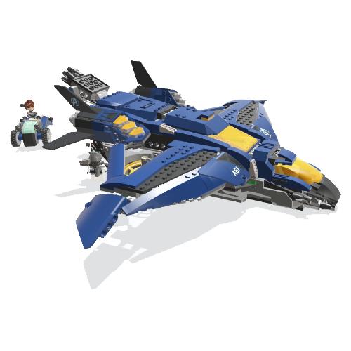 Lego Marvel Quinjet