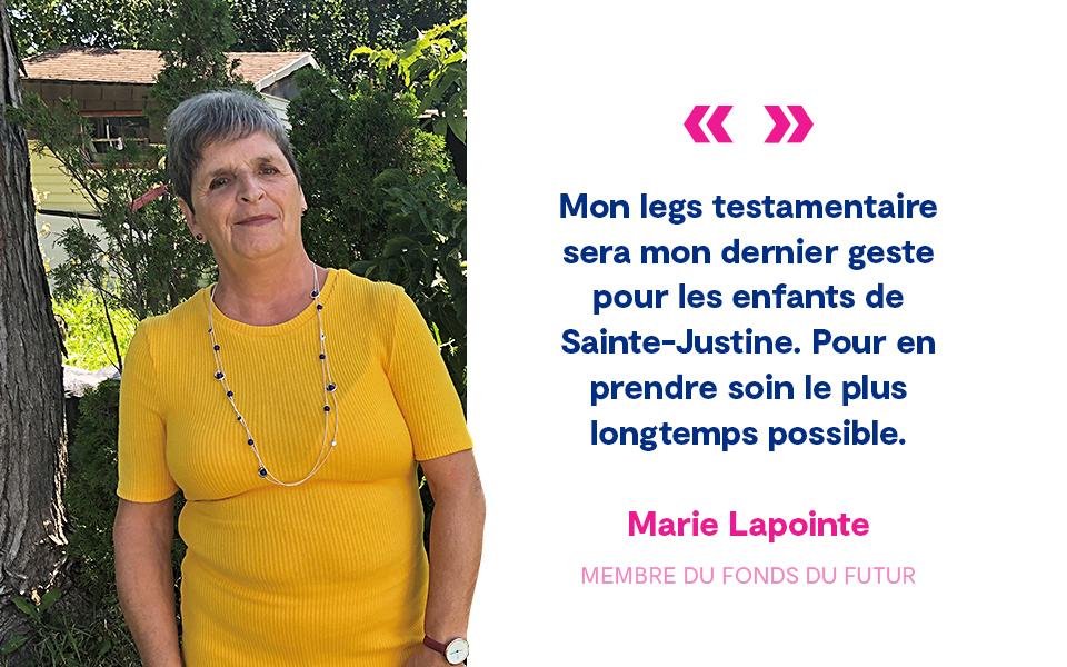 Citation Marie Lapointe
