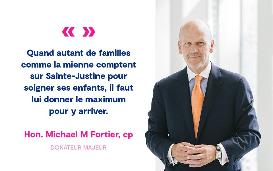 Citation Michael M Fortier