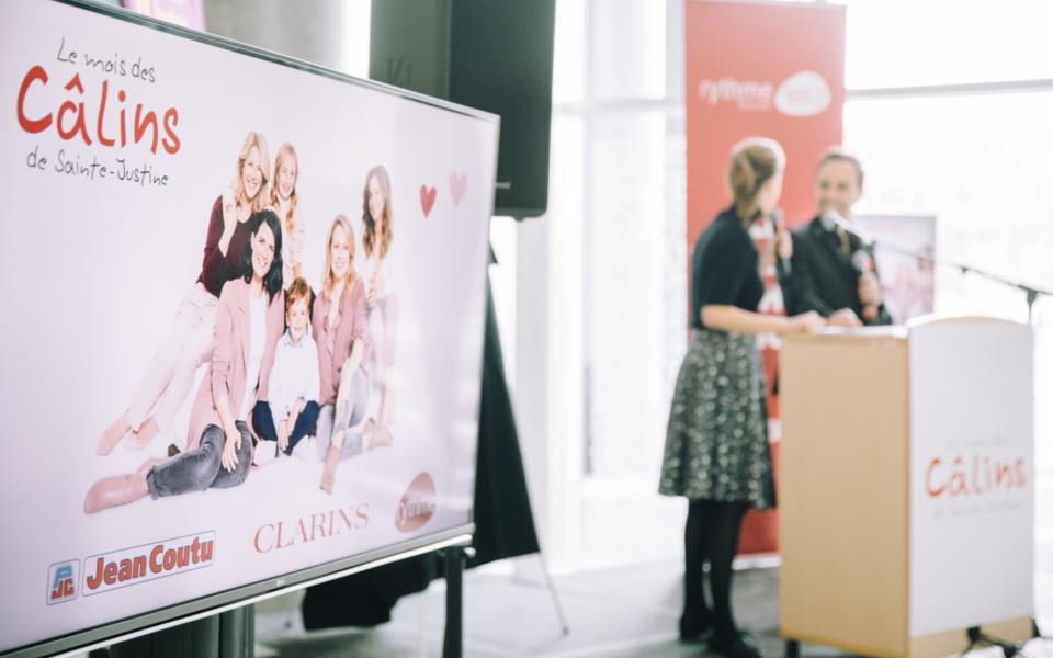 Mois Des Calins Sainte Justine Conference Presse 2018
