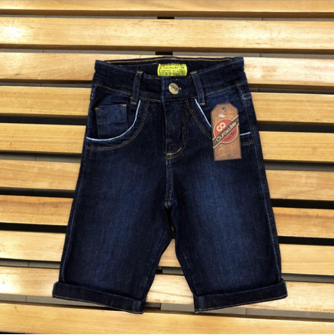 Bermuda Jeans Infantil Circuito Jeans