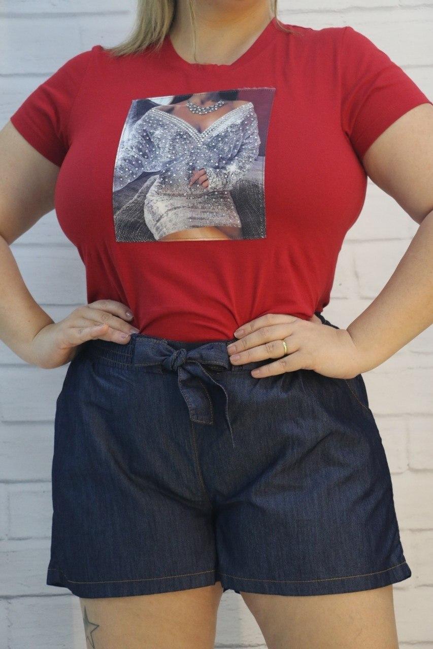 Bermuda Jeans Ref. 340 Vitória Dellas