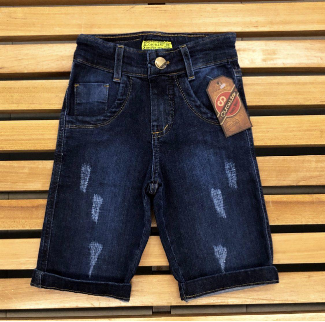 Bermuda Infantil Circuito Jeans