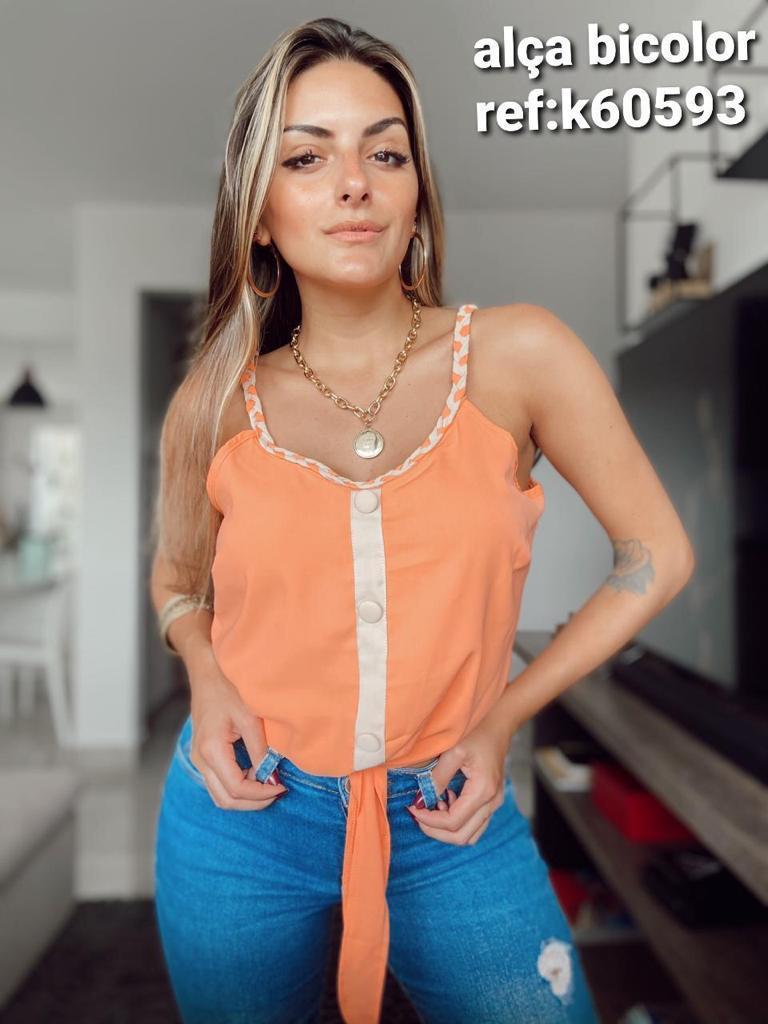 Blusa de alça - Gabryella.com