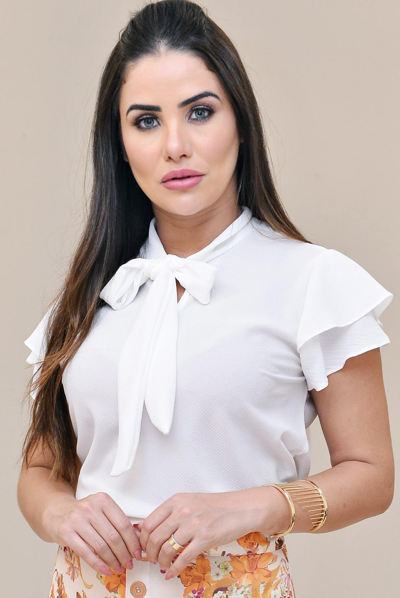 Blusa de laço - Elegance
