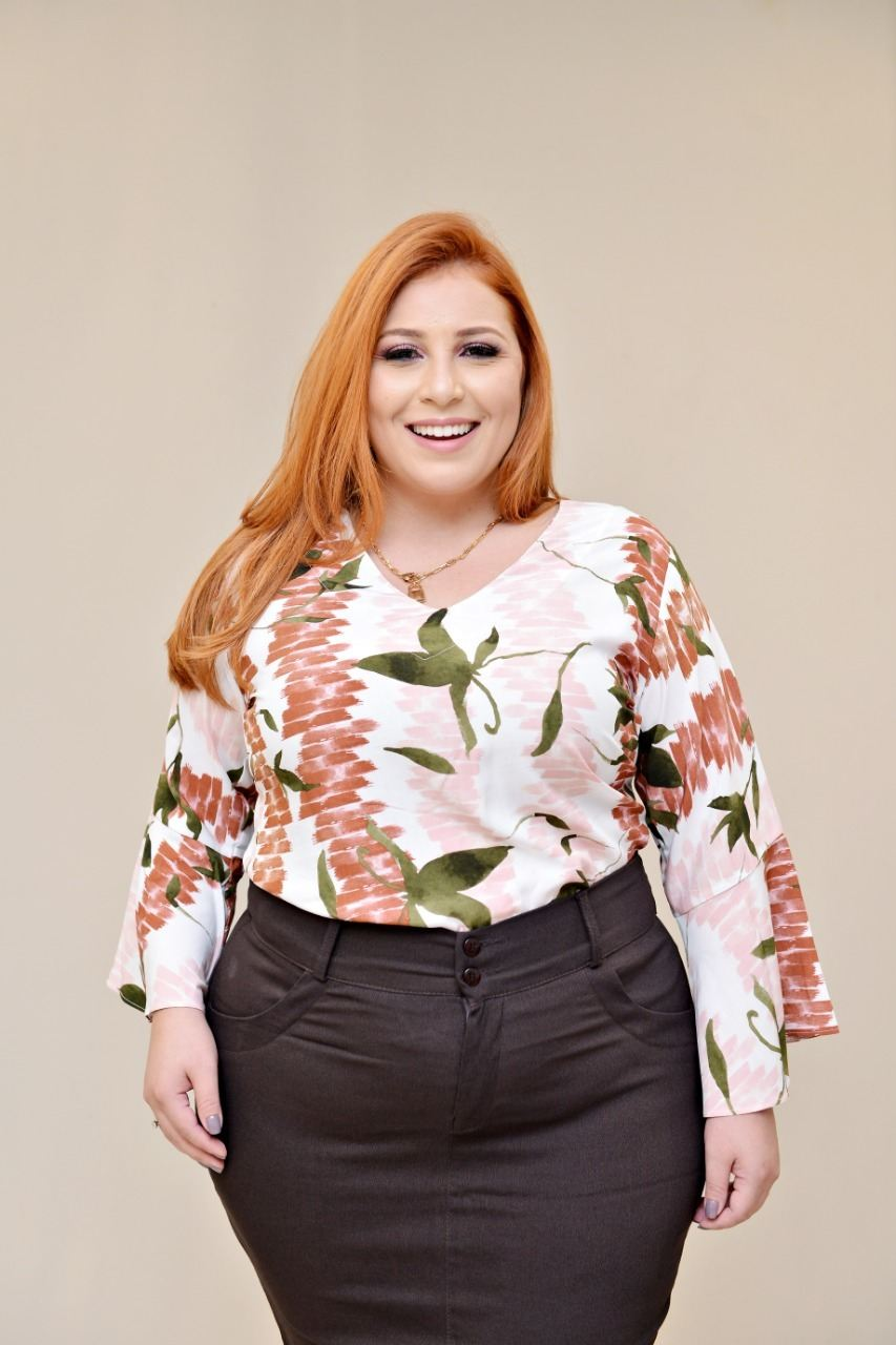 Blusa Estampada - Vaidosa Fashion