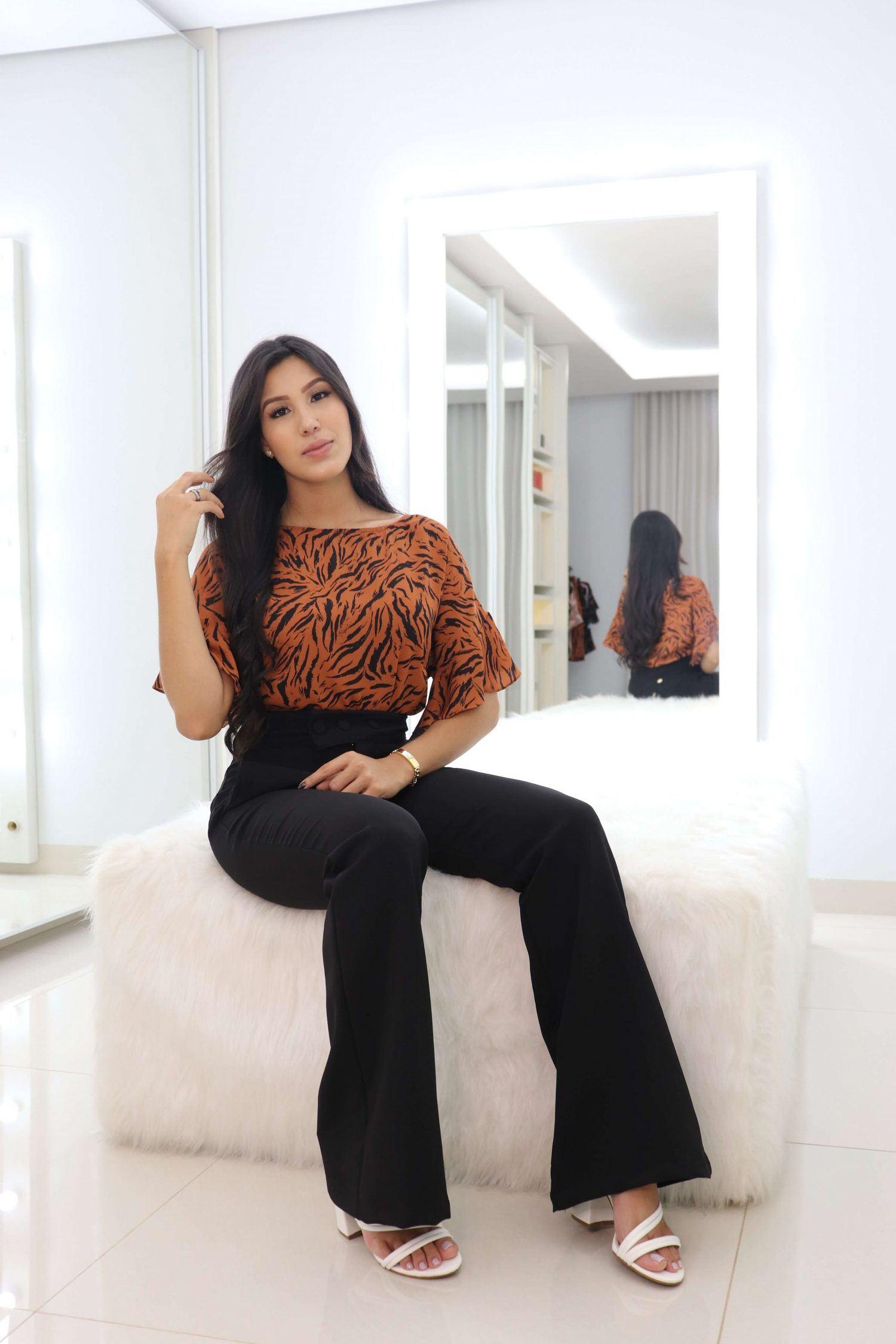 Blusa Maya Cleo Rocha