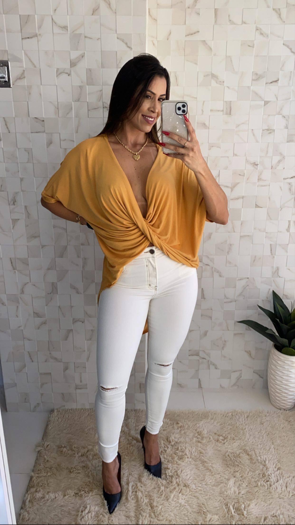 Blusa mullet - Très Chique