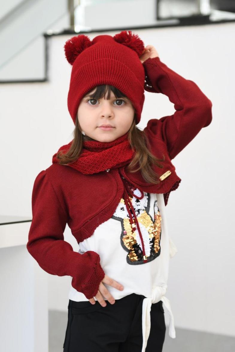Bolero e Kit luxo - Passarinho Kids