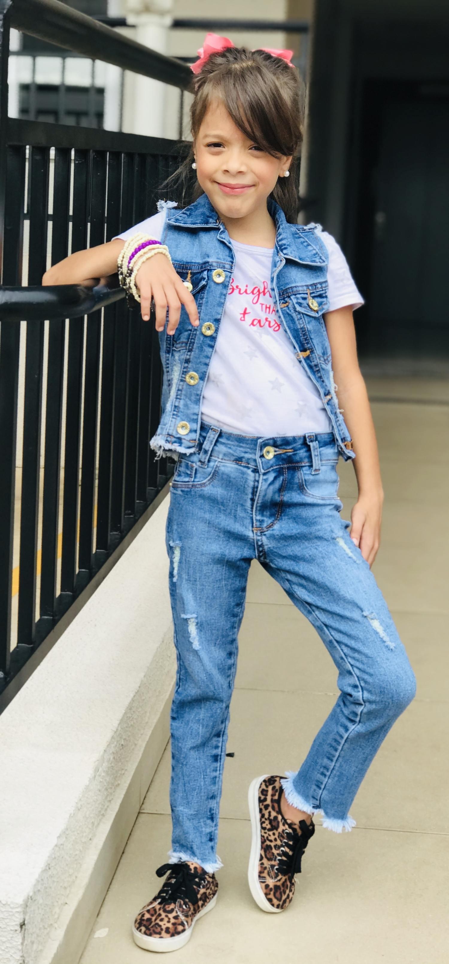 Boopy Store - Calça Jeans Clara