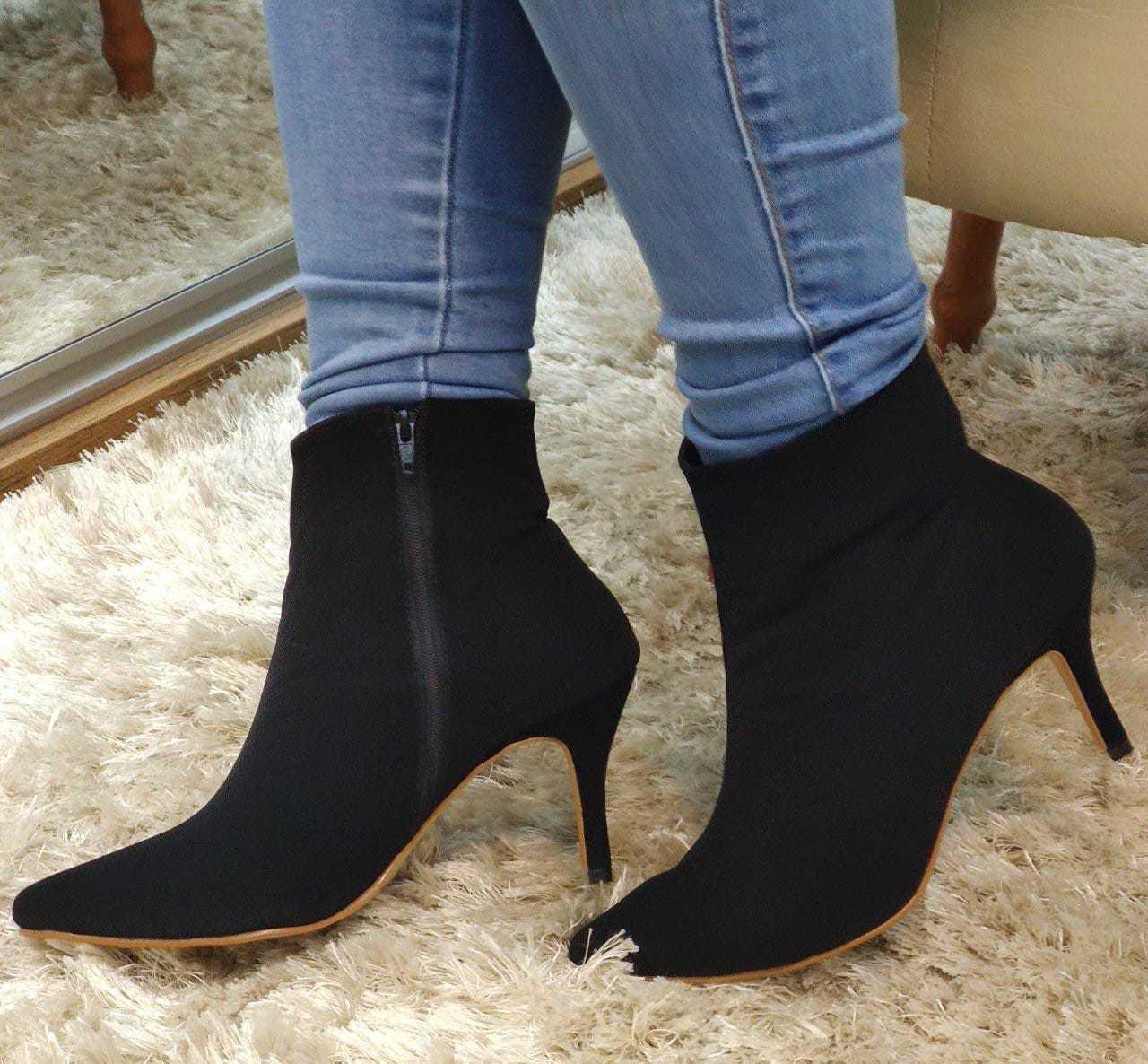 Bota Bico Folha Eva Lopes Shoes