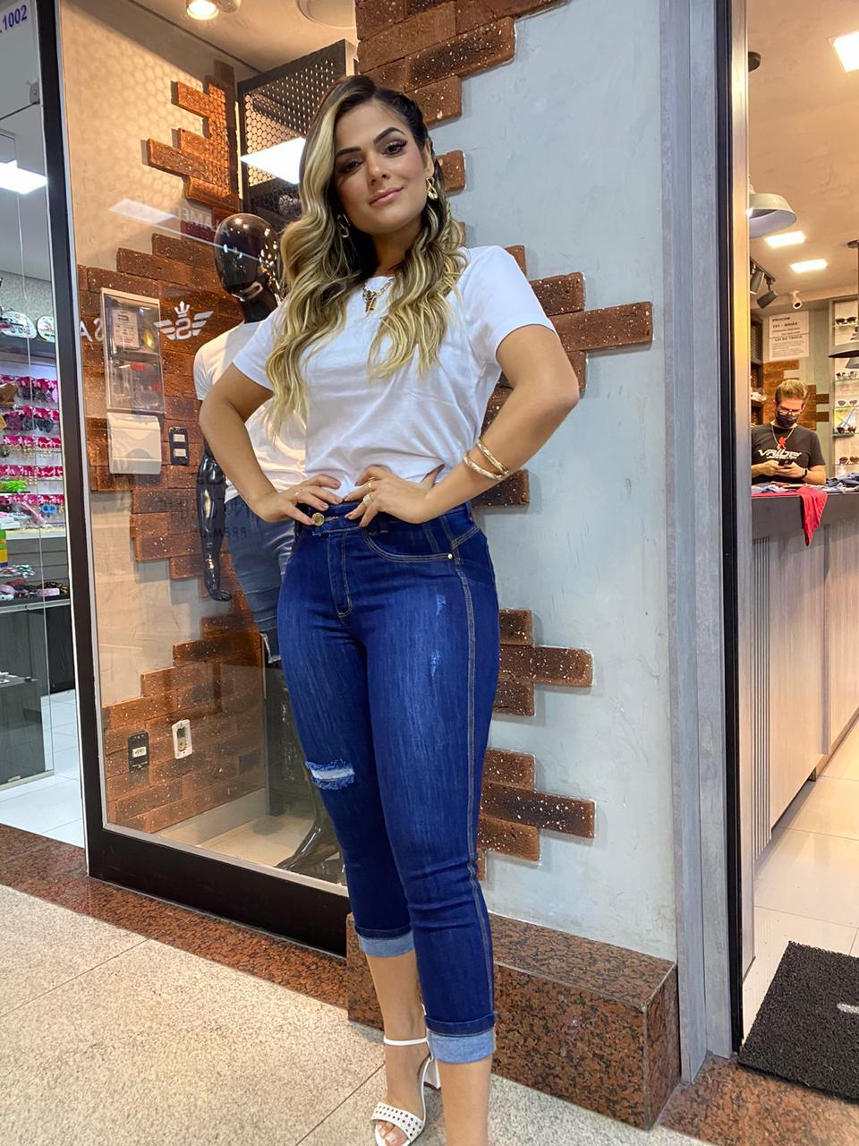 Calça feminina vaibe jeans