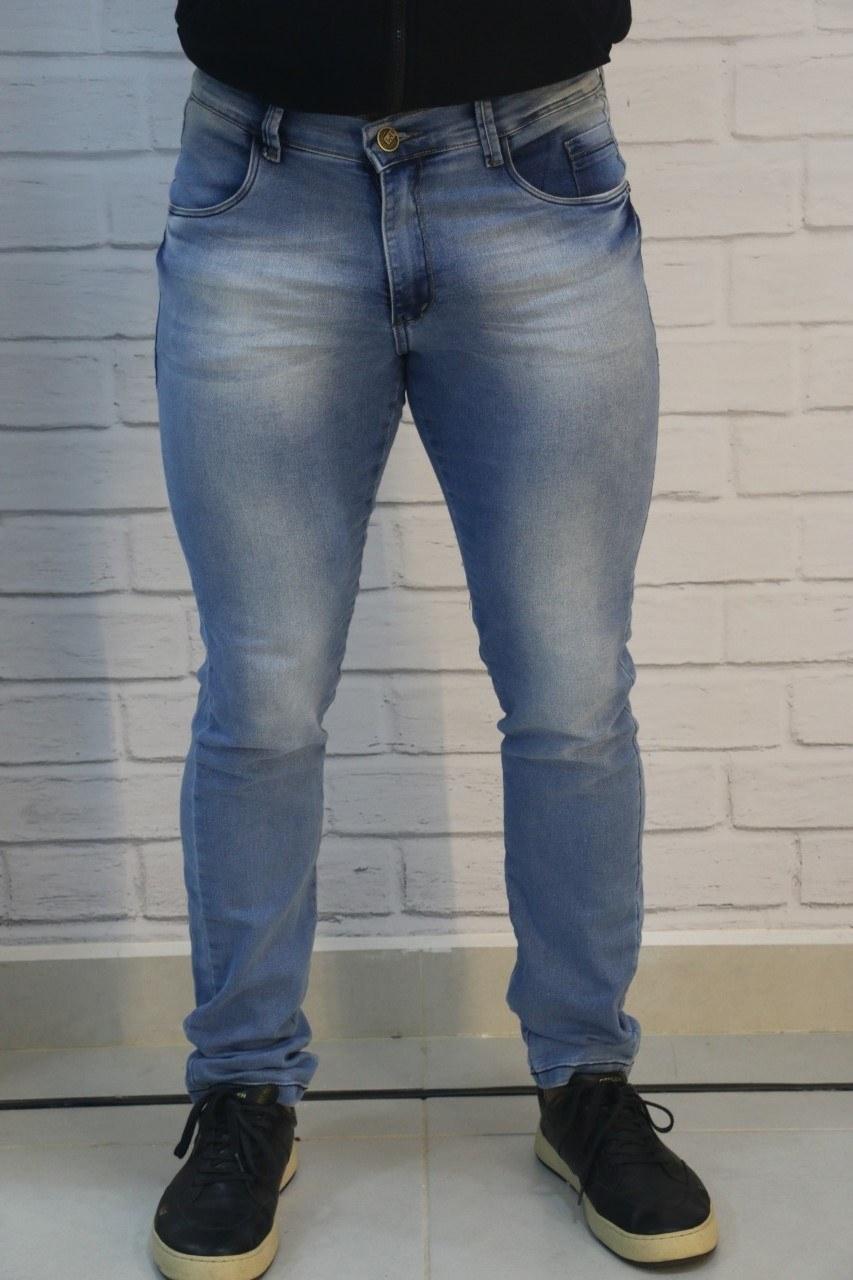 Calça Jeans Skinny Claro LAF