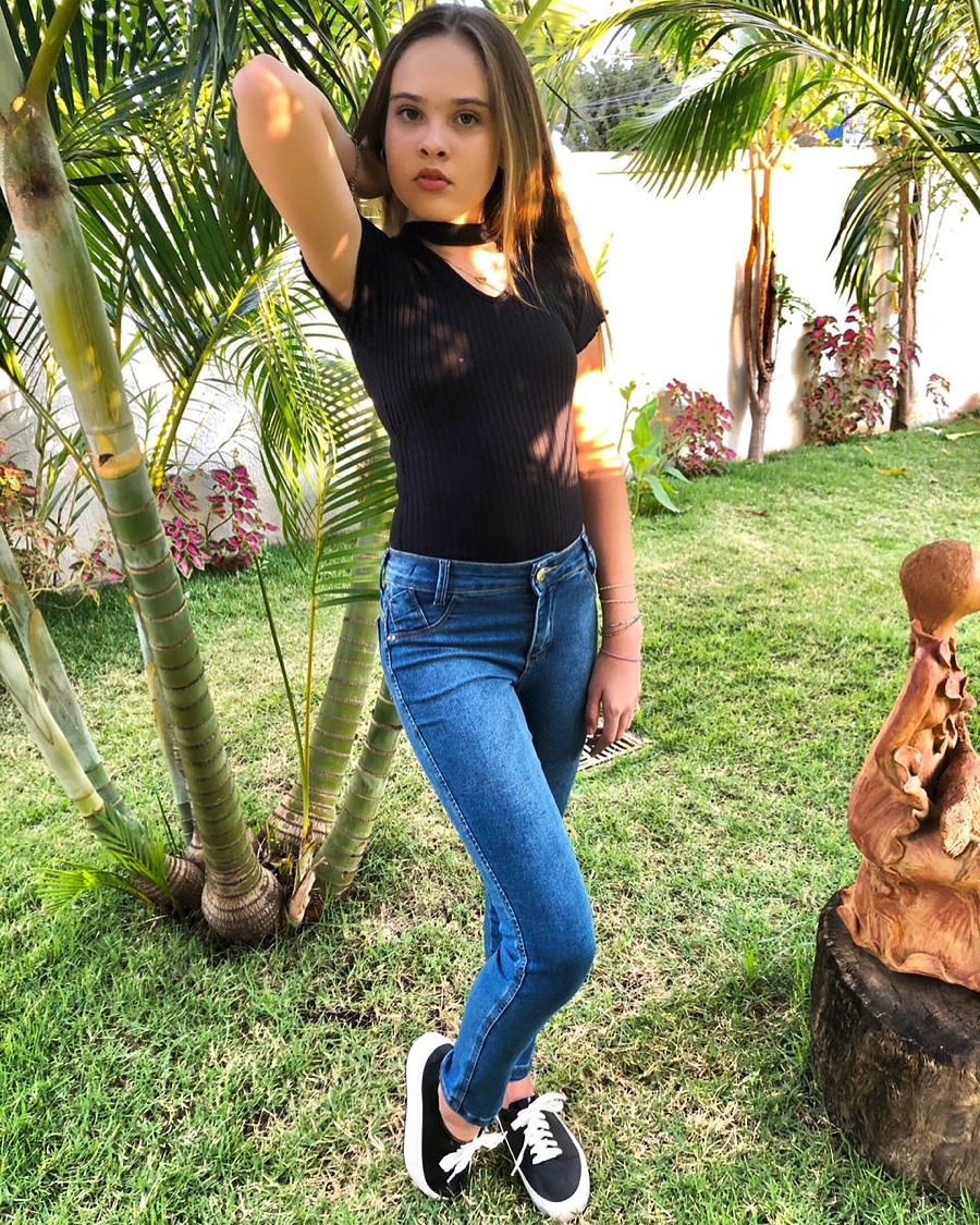 Calça Jeans Infantil - Feminina - Skynny - Pimbolim.