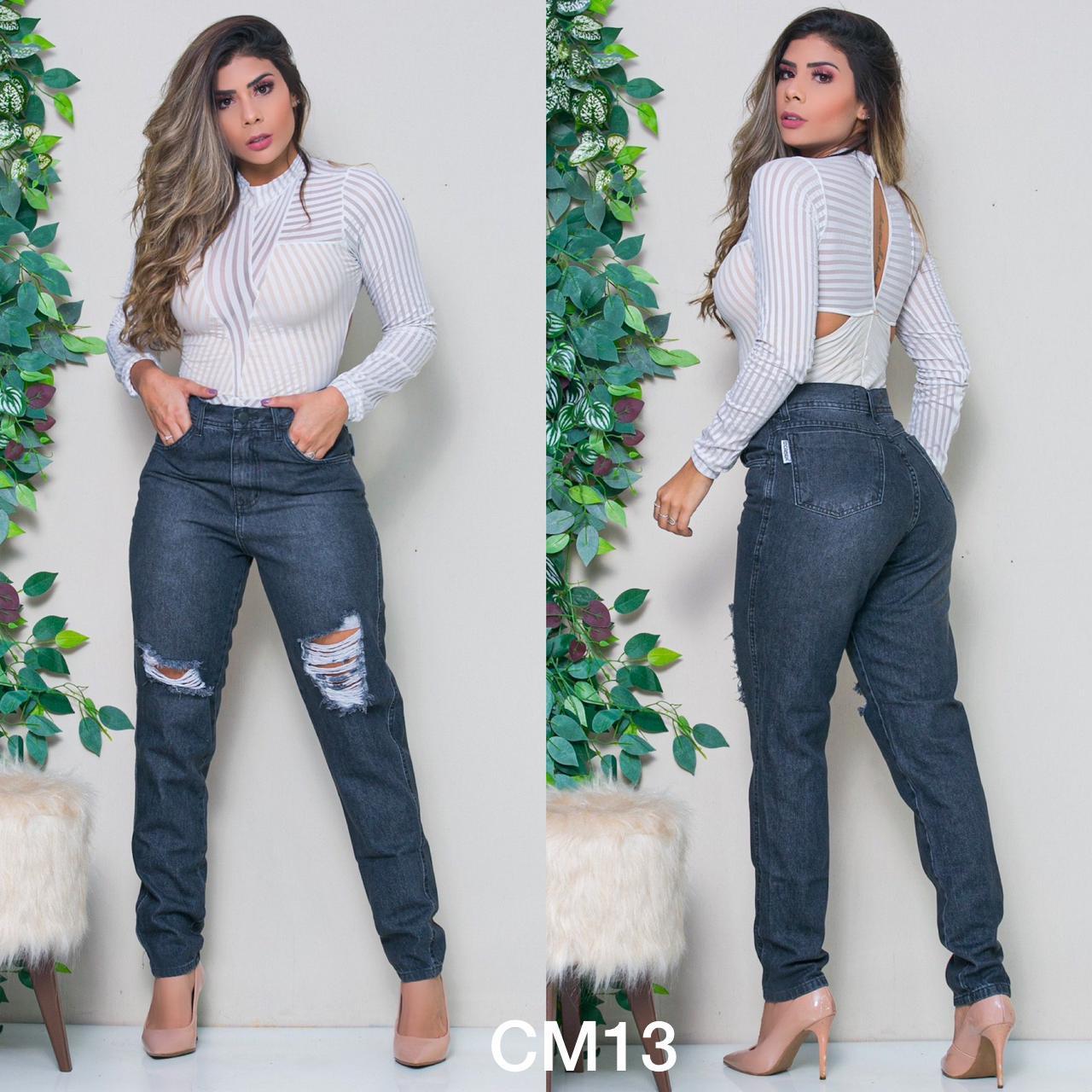 Calça Mom Jeans Mardza Collection