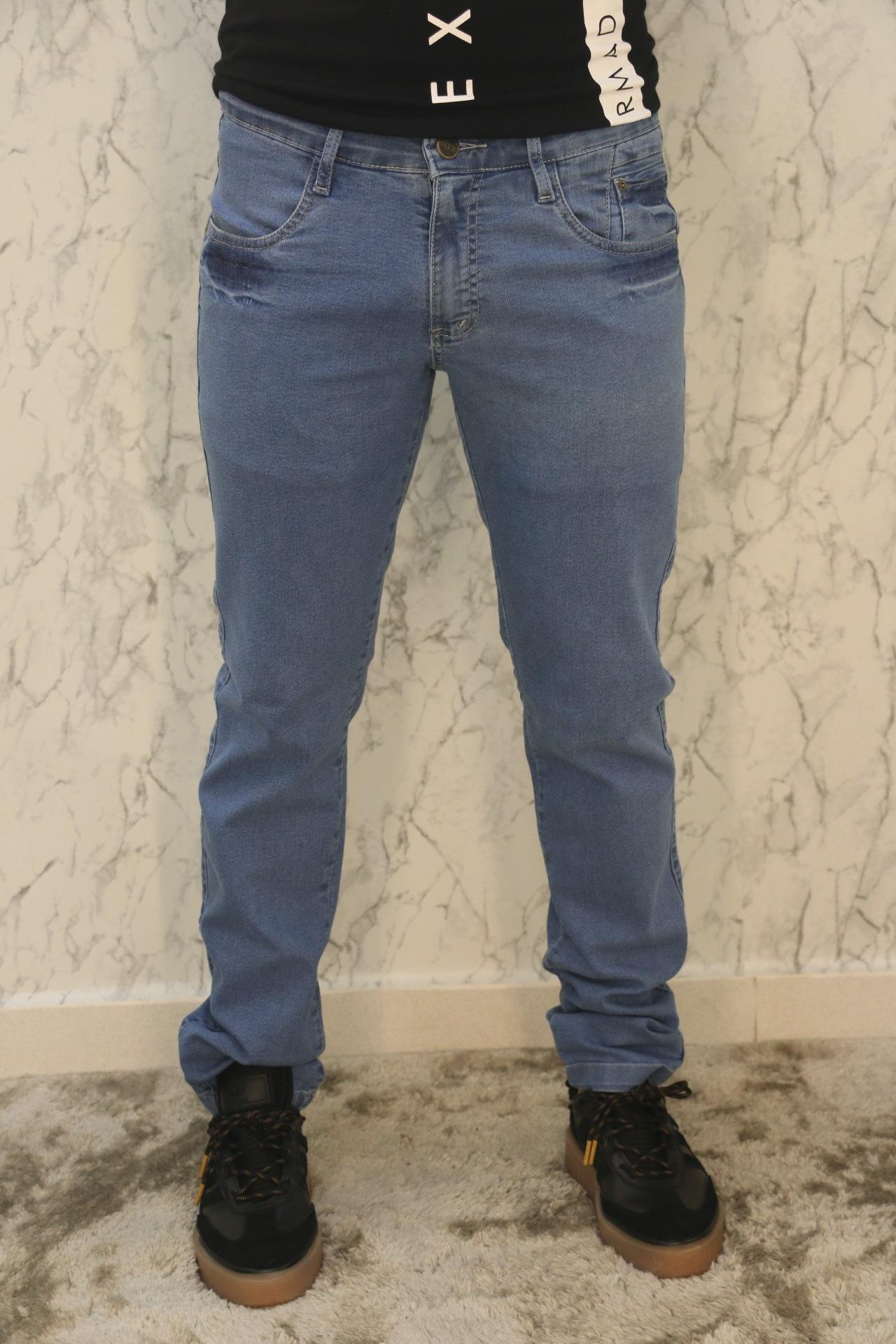 Calça Jeans Semi Slim Armad