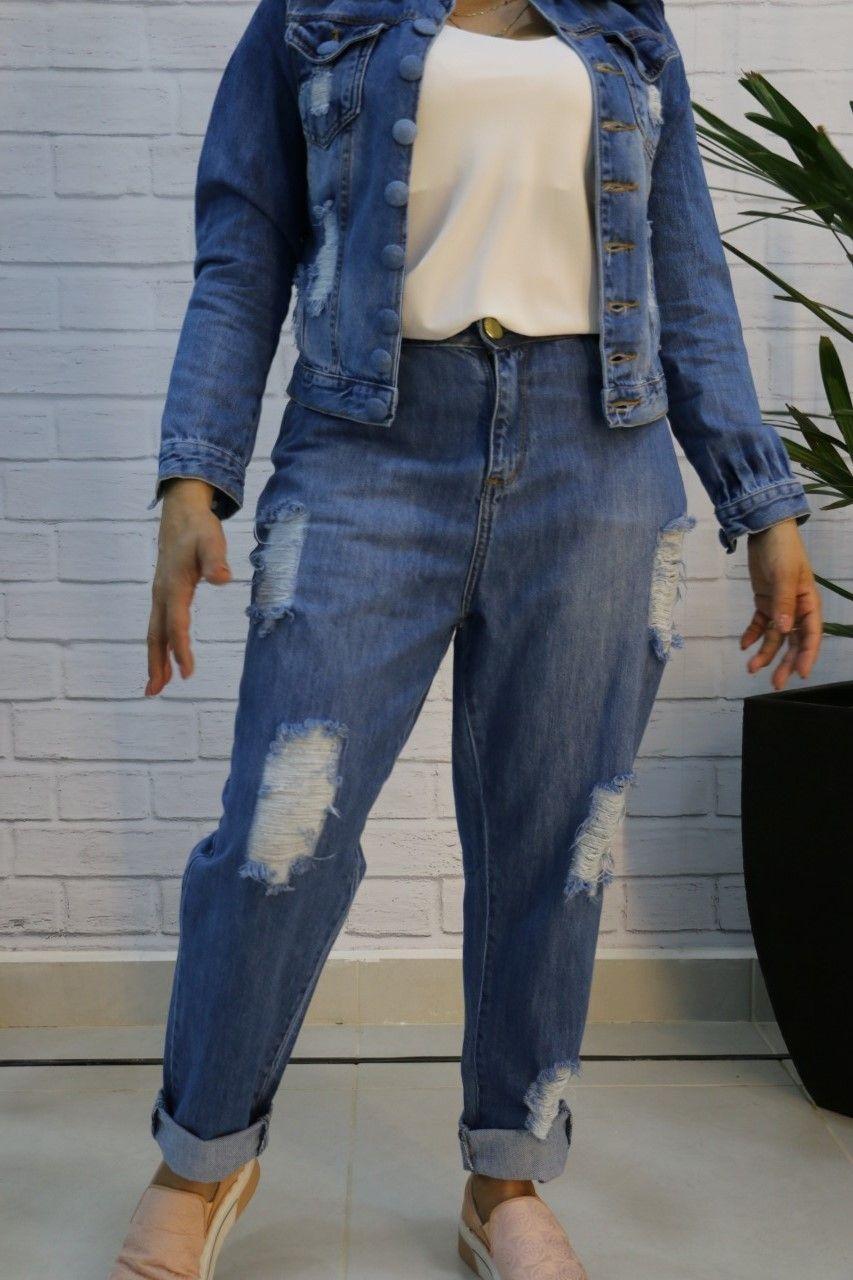 Calça Jeans Mom 100% Algodão Cousins