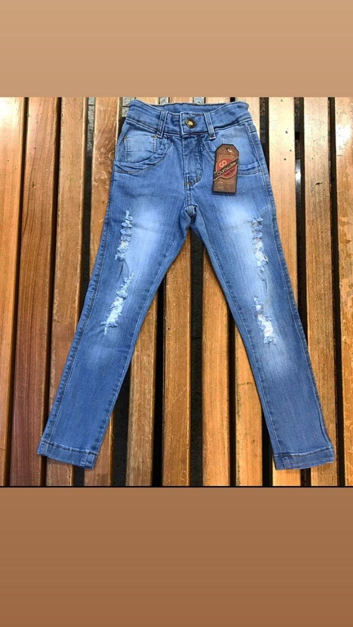 Calça Infantil Circuito Jeans