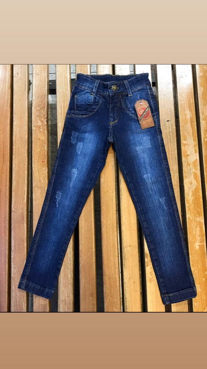 Calça Masculina Infantil Circuito Jeans