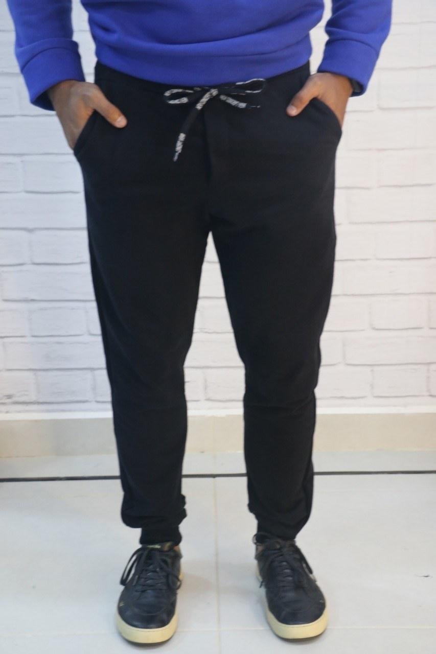 Calça Moletom Preta New Concept Wear