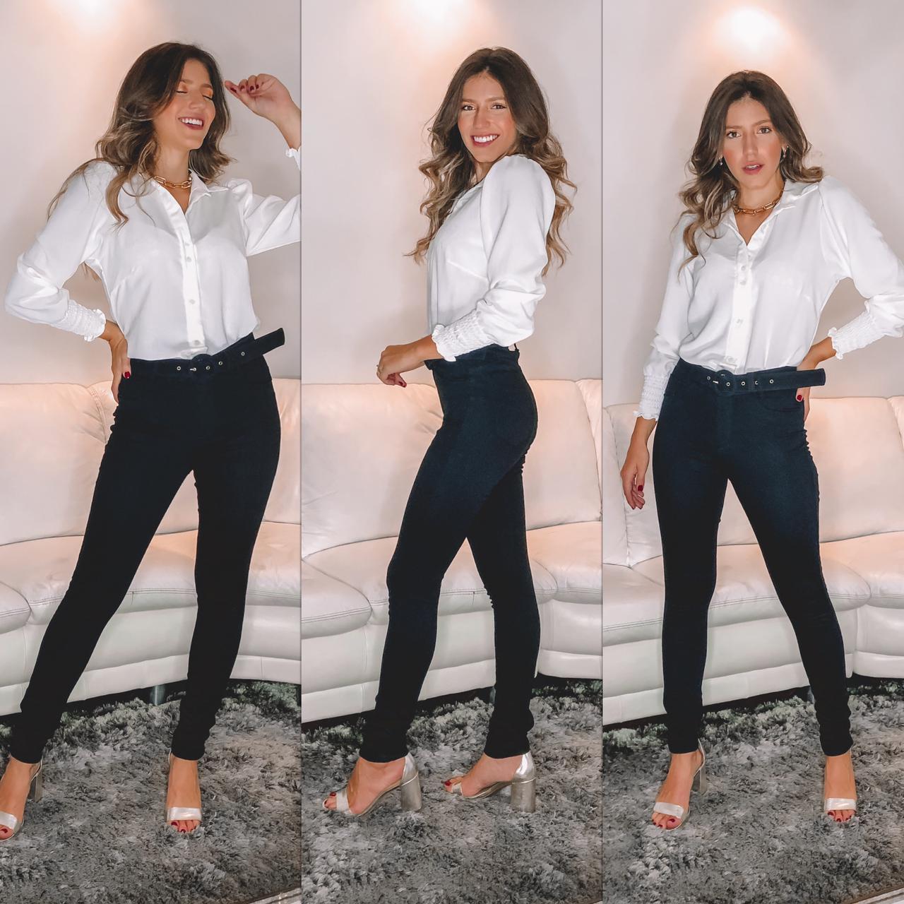 Calça preta -sthrauss jeans