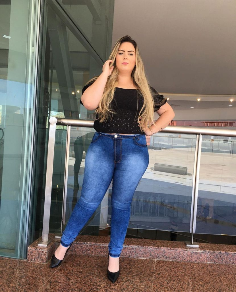Calça Jeans Feminina Skinny Plus Size West South