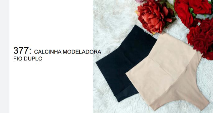 Calcinha Modeladora Fio Duplo Itana Lingerie
