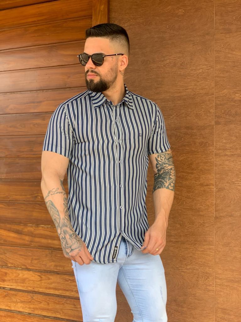 Camisa Listrada Boow