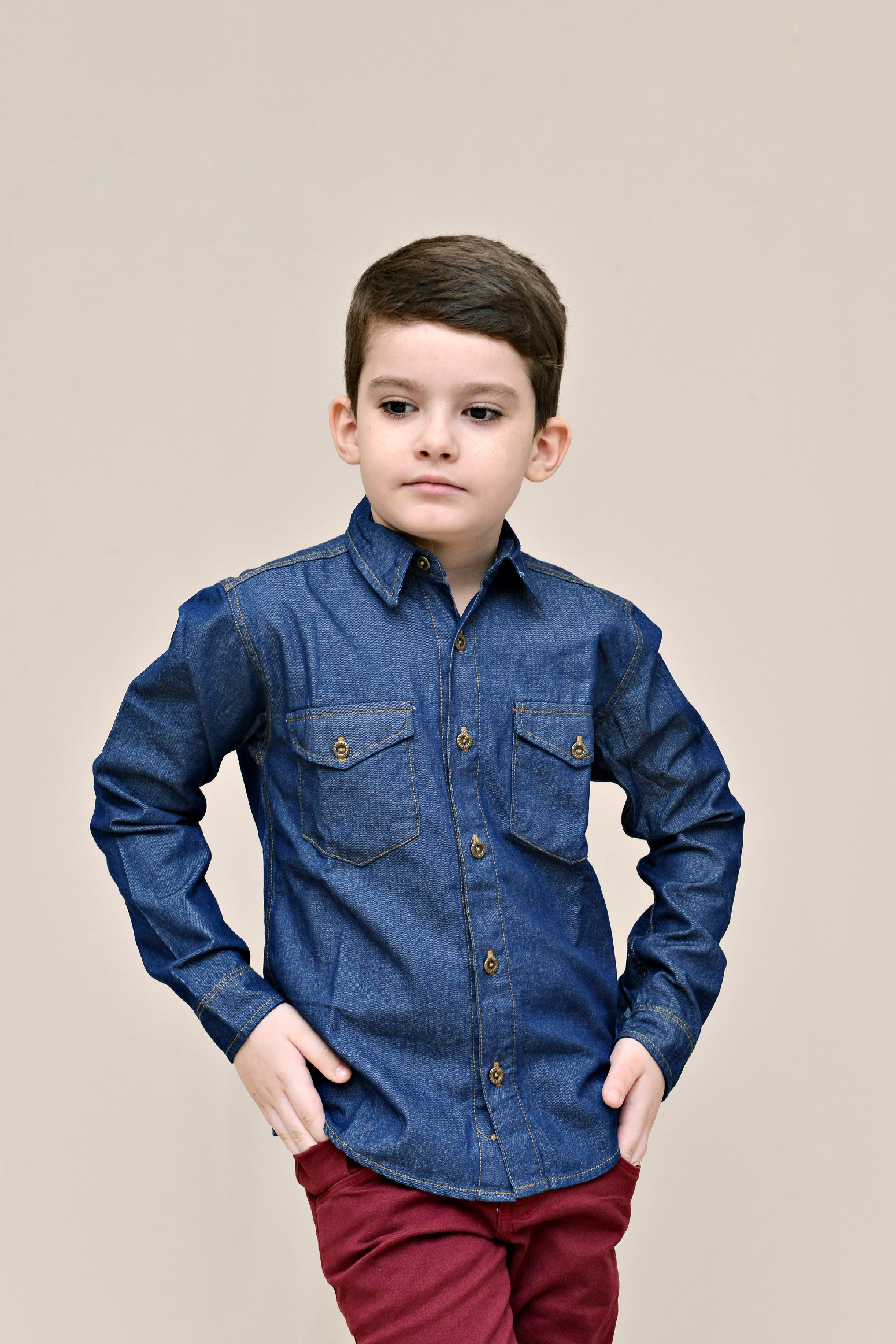 Camisa Jeans Masculina - Circuito Jeans