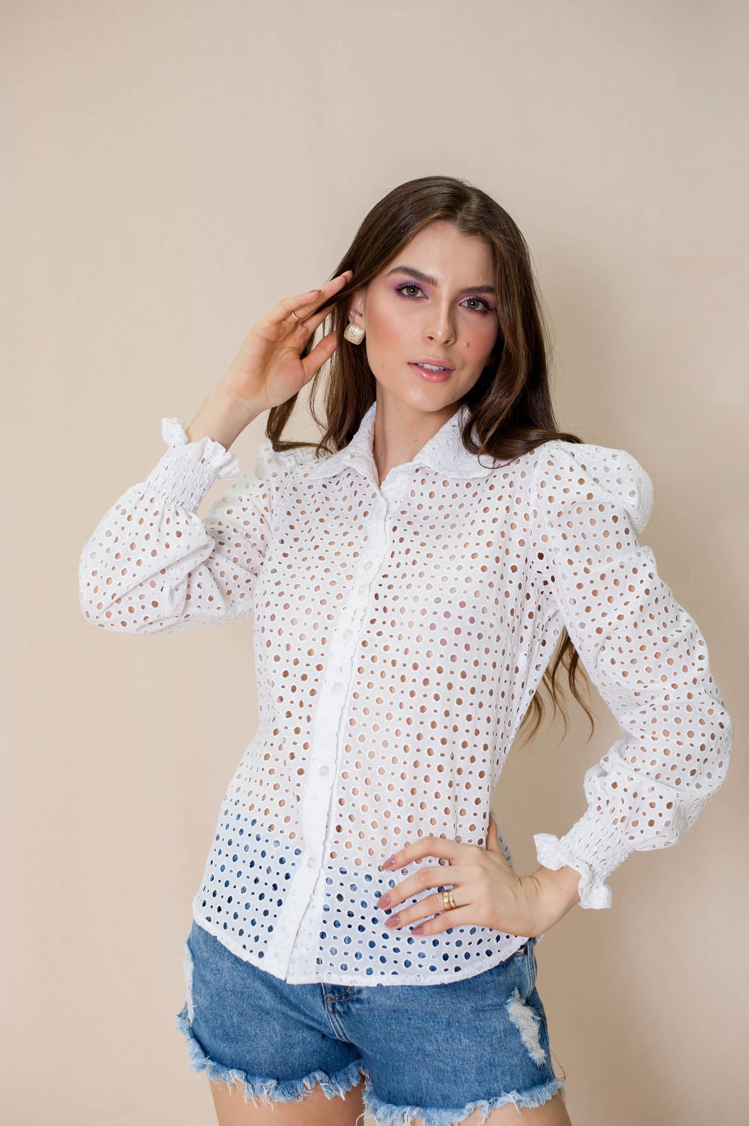 Camisa lese - Luana Costa