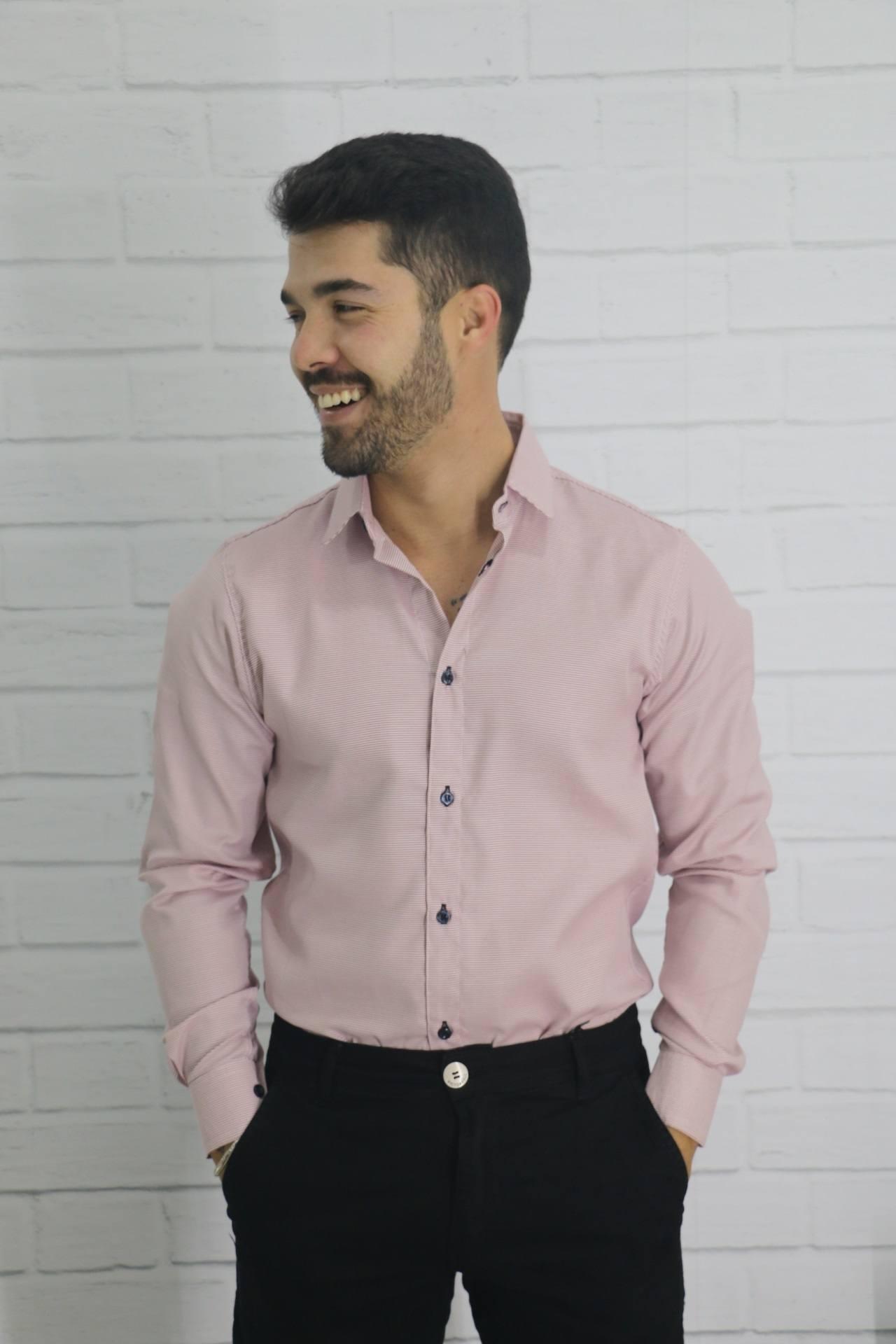 Camisa Manga Longa Premium Diúlly Modas