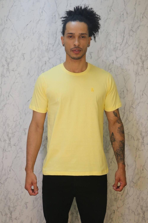 Camiseta Básica Amarela Burguês