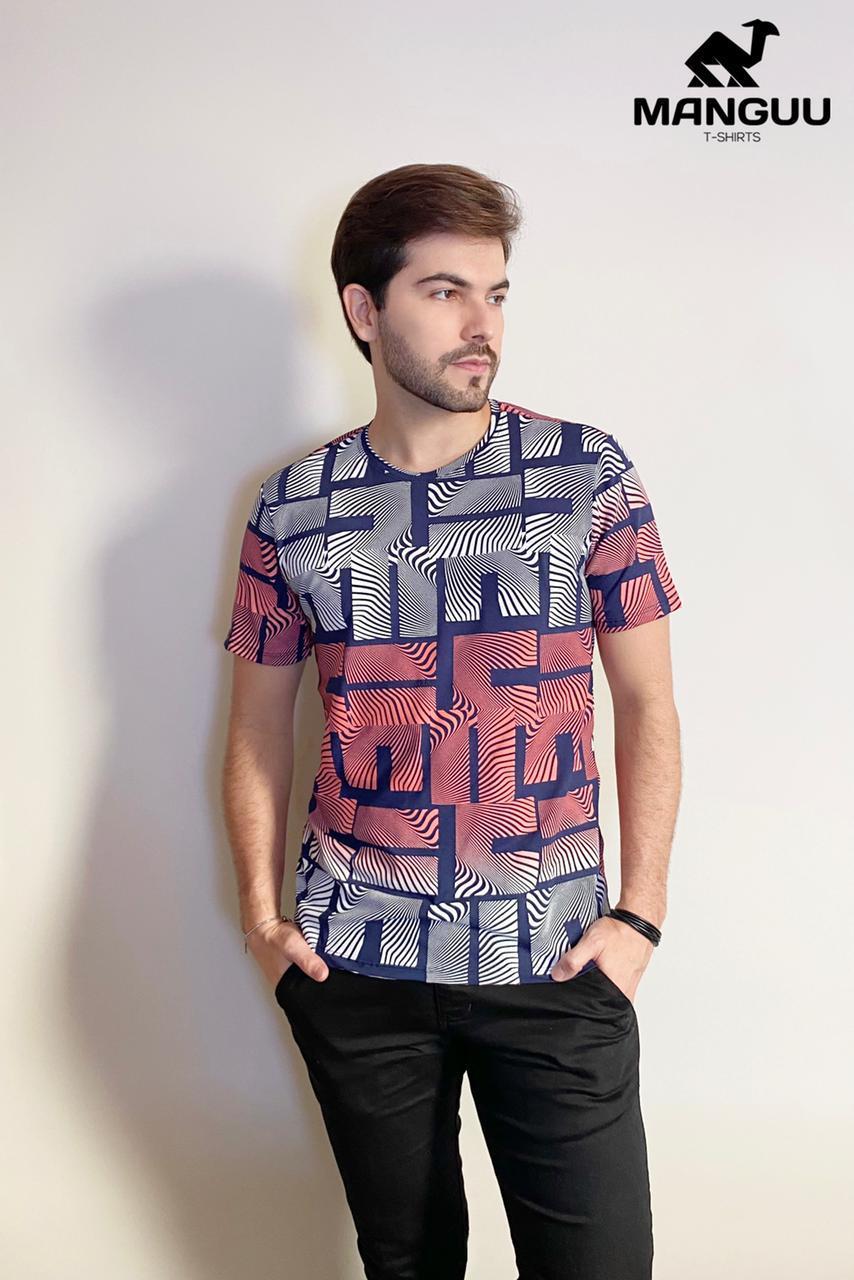 Camiseta gola 'O' - MANGUU T-SHIRTS