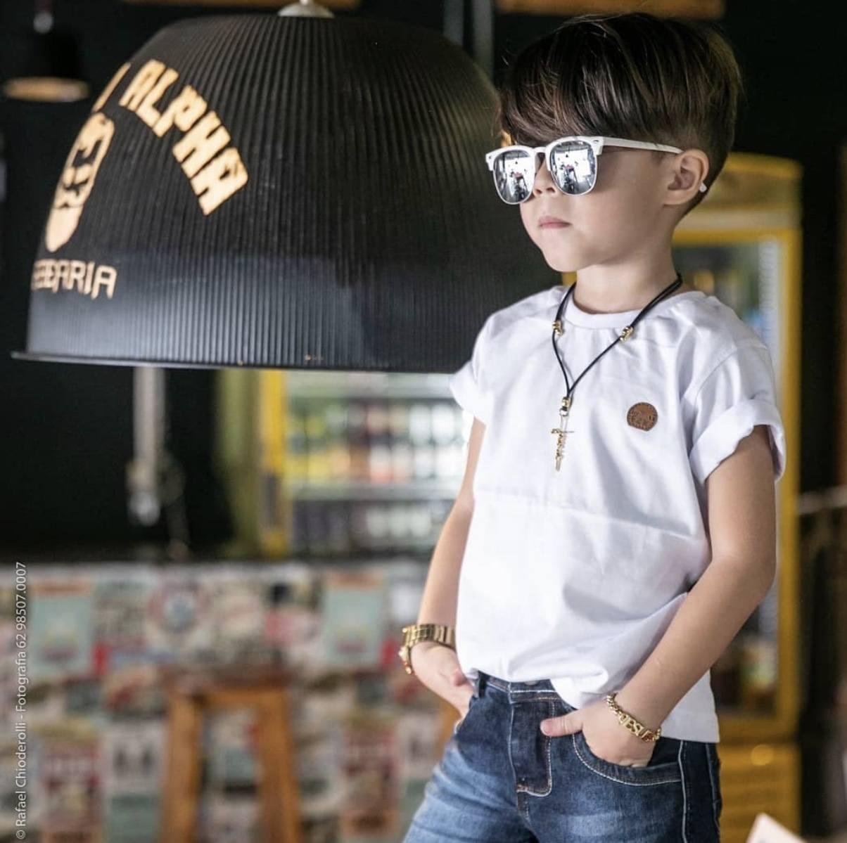 Camiseta Lisa Básica- FUZZAKA KIDS