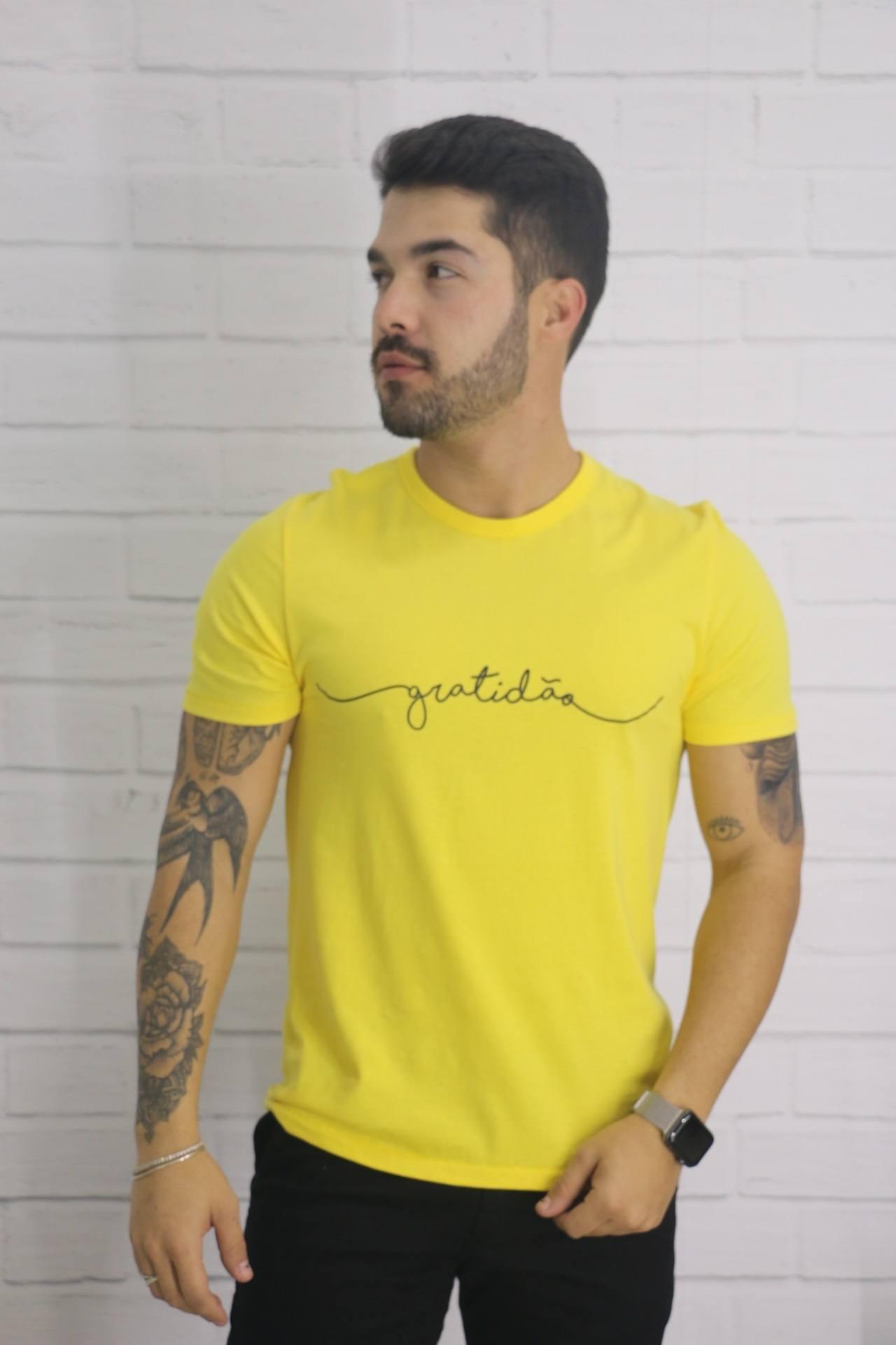 Camiseta Masculina Slim Eros Camiseteria